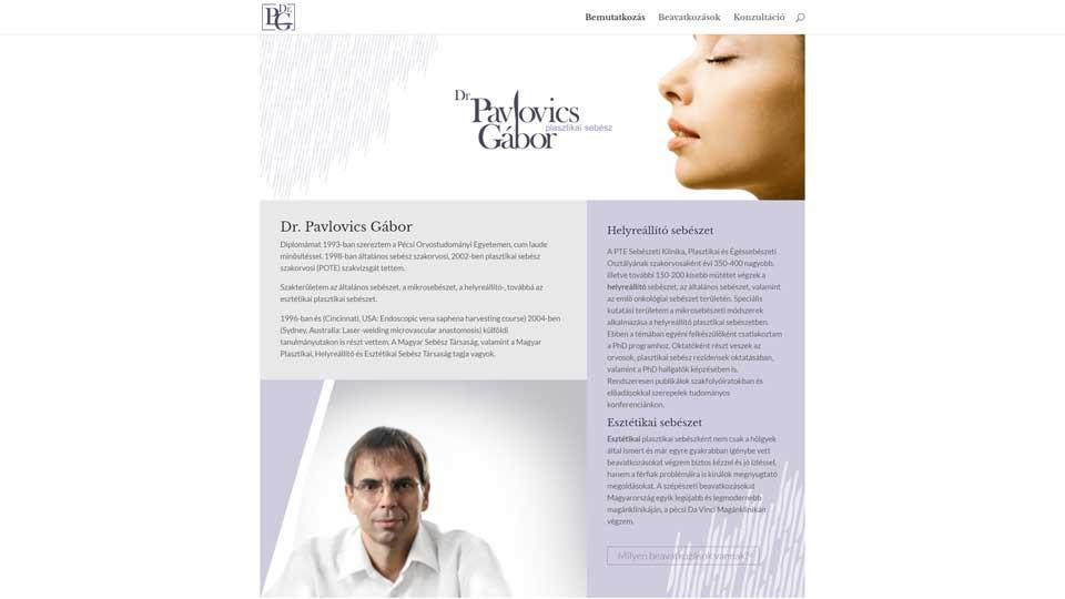 egynapos weboldal alap weboldal dr pavlovics 1